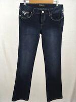 Rue 21 Womens Pants Premiere Denim Mid Rise Boot Cut Blue Jeans Size 5/6 R