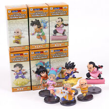 DRAGON BALL Z - SET 6 FIGURAS / THE HISTORICAL CHARACTERS #6 / 6 FIGURES SET