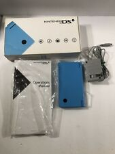 Nintendo DSi Light Blue Handheld Video Game System CIB Complete Tested