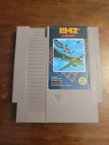 1942 (Nintendo Entertainment System, 1986) Game Only - Tested - Authentic