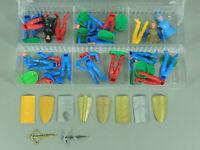 STECKIS: Ritter mit Armbrust D/EU 1987 - Tolle Box Ersatzteile, viele Schilde 1