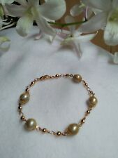 Auth SOUTH SEA PEARL Bracelet Charms in Micron Setting ON SALE