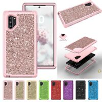 Glitter For Samsung Galaxy Note 10 10 Plus Cover Shockproof Silicone Hybrid Case