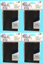 240 Ultra Pro DECK PROTECTOR Card Sleeves Black YUGIOH Small Size Gaming Storage