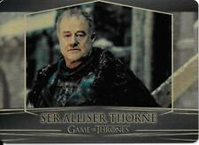 Game of Thrones : Valarian Steel gold parallel base #39 (007/100) Alliser Thorne