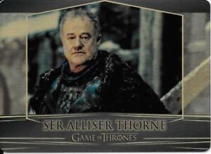 Game of Thrones : Valarian Steel gold parallel base #39 (007/100) Alliser Thorne