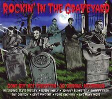 ROCKIN' IN THE GRAVEYARD (NEW SEALED 2CD) Link Wray, Elvis Presley, Gene Vincent