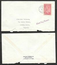 1938 Canada First Day Cover