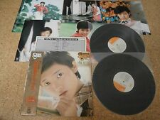 Momoe Yamaguchi ~ Deluxe Series/ Japan Double LP/ OBI 5 Pinup Sheets