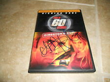 Gone In 60 Seconds Chi McBride Signed Autographed DVD Movie Cover PSA Guaranteed