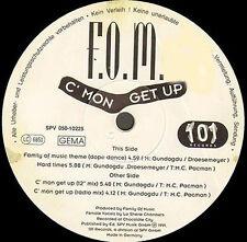 F.O.M. - C'mon Get Up - 101 Records
