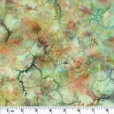 Hoffman Batiks Bali Chop Leaf Scroll Balsam Priced per ½ yd K2490-548