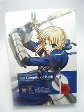 Anime Fate Stay Night Compilation Art Book With Inflatable Air Excalibur Japan