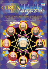 Maths Magazine CIRCA 17 (New! back issue) for 9 to 12 year olds