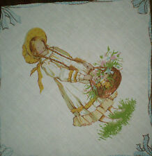 Vintage HOLLY HOBBIE Fabric #4 (30cm x 30cm)