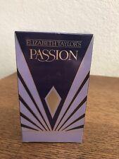 Elizabeth Taylor's Passion Eau De Toilette Spray 74ml 2.5FL. OZ New Sealed