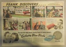 Gillette Razor Ad: Frank Discovers Close Shave Brings Romance! from 1930's