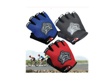 Kids Climbing Outdoor Sport Bike Cycling BMX Motorcross Half Finger Mesh Glove