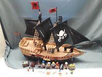 6678  Playmobil großes Piratenschiff  Piraten - Kampfschiff Meer Ozean Seeräuber
