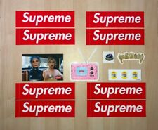 Authentic Supreme Stickers Collection