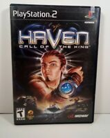 Haven: Call of the King (Sony PlayStation 2, 2002) (CIB) W/Manual