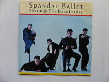 45 Tours SPANDAU BALLET Through the barricades , with the pride 650103