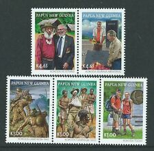 PAPUA NEW GUINEA 2010 KOKODA TRAIL WORLD WAR II UNMOUNTED MINT