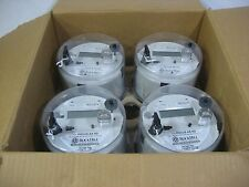 Lot of 4 Landis + Gyr Ax-Sd Electric Smart Meter Cl200 3W 240V 7.2Kh 60hz Nib