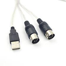 USB in-out interface MIDI convertisseur câble PC à la musique cordon de clavi IY