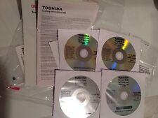 Toshiba Tecra R940 Drivers Recovery Restore windows 8 pro set of 4 CDs new