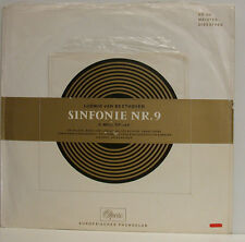 "BEETHOVEN SINFONIE NR. 9 ARTUR ROTHER LANG ILOSVAY GEISLER CRASS LP + 7"" (e878)"