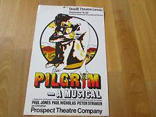 PILGRIM a Musical  Paul JONES & NICHOLAS  Grand Theatre LEEDS  Original Poster