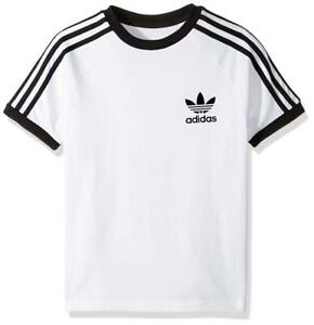 Junior Adidas California White/Black T-Shirt (SJ2) RRP £24.99