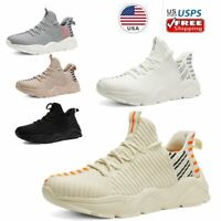 Women's Lightweight Walking Sneakers Breathable Sports Tennis Running Shoes