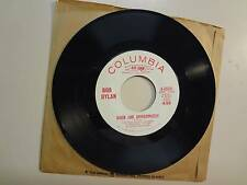 "BOB DYLAN: Queen Jane Approximately- One Of Us Must Know-U.S. 7"" 66 Columbia DJ"