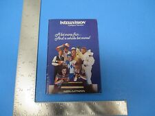 Vintage 1981 Intellivision Intelligent TV Game Guide, A lot more fun S1110