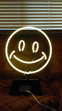 Neon Happy Face Sign in Yellow New in Box