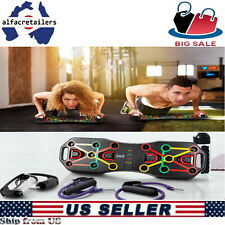 Best Push Up Rack Board Stand Handles Chest Press Gym Fitness Muscle Exercise