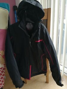 Parallel Black Ladies ski jacket. Size 12