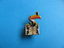 Guinness Toucan Weather Vane Pin badge. VGC. Unused. Enamel.