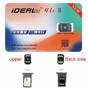 Tools Perfect Unlock Turbo IDEAL 4G Ⅱ Sim Card Sticker Smart IC For IPhone