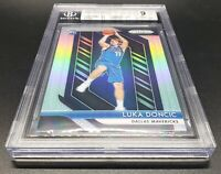 💎2018-19 Panini Prizm Silver #280 Luka Doncic RC Rookie BGS 9 MINT Serial w/ 77
