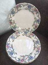 More details for royal cauldon - victoria - set of 4 dinner plates 10.5