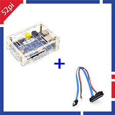 Banana Pi M1 + BPI Acrylic Transparent Case + Banana Pi SATA Cable