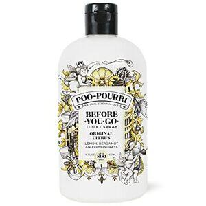 Poo-Pourri Before-You- go Refill Bottle 16 Fl Oz Original Citrus 16 Fl Oz