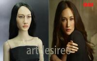 KUMIK 044 Maggie Q Nikita 1/6 Female Head Sculpt For 12'' Phicen Body Figure