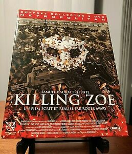 KILLING ZOE (1994) 3-DVD Collector's Set (Coffret Collector)