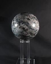 Stunning giant tourmaline sphere on acrylic display, Western Australia