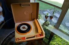 Vintage 1978 Fisher Price Turntable 847T Brown 33 and 45 Audiophile Works Clean!