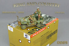 King and (&) Country DD075 - DD75 - US PATROL JEEP - NEUF / NEW
